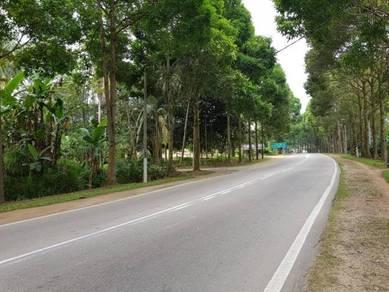 4 acres land/Facing Main Road/freehold/Kulai