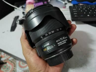Canon 15-85mm f3.5/5.6 usm
