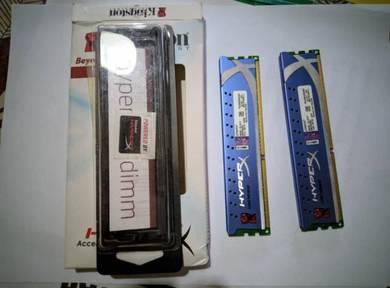 Kingston HyperX Genesis DDR3-1600 8GB Dual Channel
