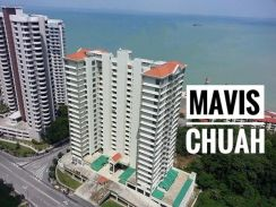 The Waterfront Fully Seaview 1475sf Renovated Tanjung Bungah