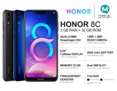 Honor 8c 3GB/32GB Msia Set