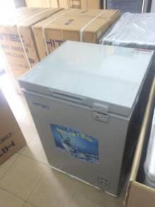 New - grey freezer (133L) Hitec