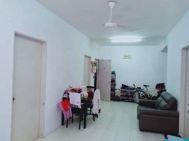 GROUND FLOOR, END LOT, Apartment Mayang Puncak Jalil Dekat Bukit Jalil