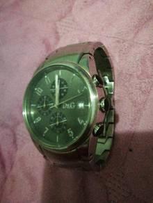 D&G; chronograph watch