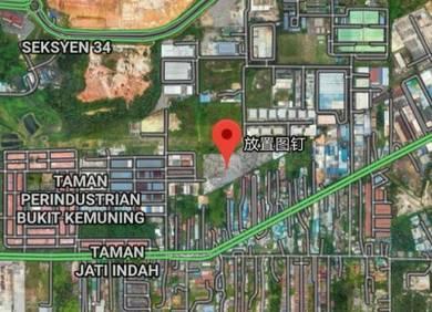 Industry Land 7acres Freehold Bukit Kemuning Industrial Area