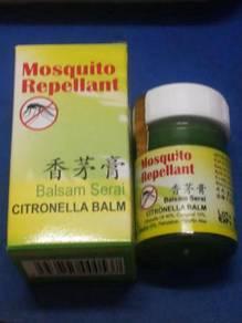 Mosquito repellent balsam serai citronella balm