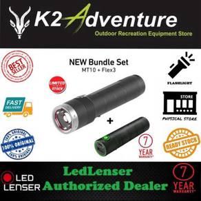 Led lenser mt10 flex 3 bundle set flashlight