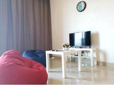 Trefoil Setia City, Shah Alam, Fully Furnished, Studio Unit #114