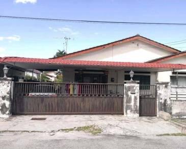 Freehold 1 Storey Detached House in Taman Yik Sang, Ipoh, Perak