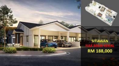[TERMURAH] Rumah Teres Setingkat 20' x 65' Termurah Di Sitiawan Perak
