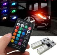 T10 rgb light bulb with controller
