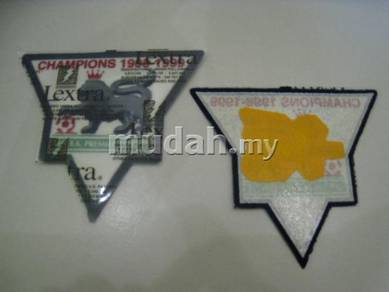 Manchester United Lextra EPL 98-99 Champions Patch