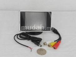 3.5 inch Stand LCD Monitor for Car