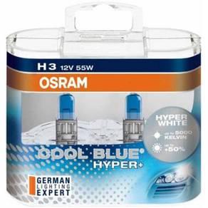 OSRAM H3 5000K COOL BLUE HYPER+ Halonge Bulb