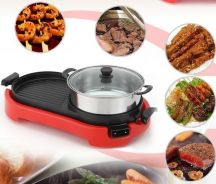 Electric Steamboat & Bbq Grill