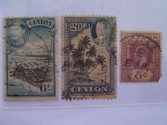 Ceylon Old Stamps - Used