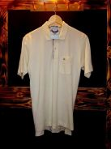 Burberry london single pocket collar t-shirt