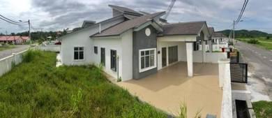 New single semi detached corner lot,Taman Jenderam Murni