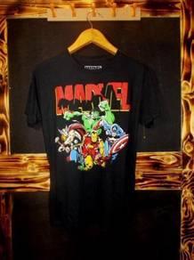 Marvel hulk captain america thor ironman t-shirt