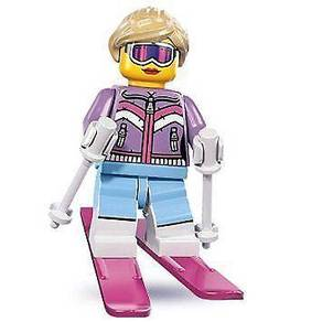 LEGO 8833 Minifigures Series 8 Downhill Skier