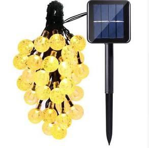 Solar Globe String Lights Outdoor