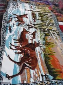Karpet dinding 70an