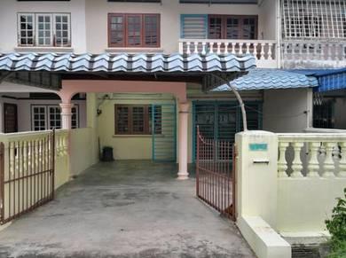 Double Story House For Sale, Taman Bunga Raya , Tapah