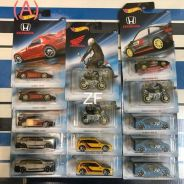 Hotwheels Honda Series, 50th Zamac, Tomica