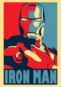 Poster Iron Man Poster Pop Art Avengers Marvel V 2