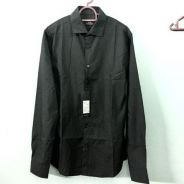 Uniqlo Slim Fit Black Shirt (NEW WITH TAG)