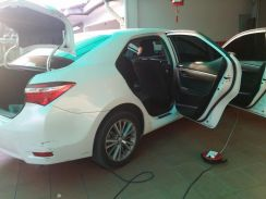 Toyota Altis - Cleaning car seat