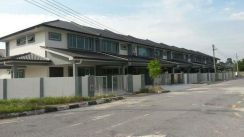 Double Storey Terrace House 22nd Mile, Kuching-Serian Road