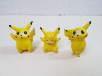 Vintage Pokemon Pikachu Toy Figures Set