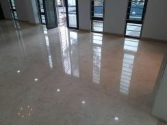 Cleaning & marble floor parquet varnish