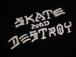 Vintage 90s skate and destroy tee long sleeve