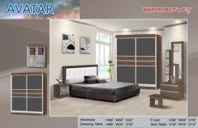 Bedroom set - a8448