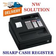 4.Sharp cash register ax107 black -15YR