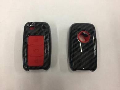 Volkswagen VW TSI GTI R Carbon Fibre Key Cover