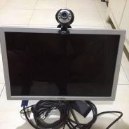 Dell LCD 17inch and camera