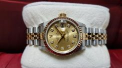 Rolex Ladies Datejust 69173 Diamond Markers