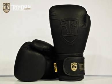Boxing Gloves Top Dog - Black (12oz)