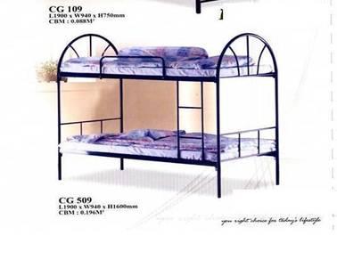 Double decker matel single bed (M-CG-509)20/06