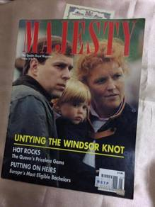 MAJESTY MEGaZINE - V.3 NO.5 MAY 1992- 68page