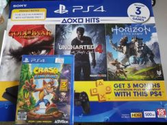 PS4 Hits bundle 500gb slim (sony msia warranty)