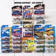 Hot wheels 62 chevy lot