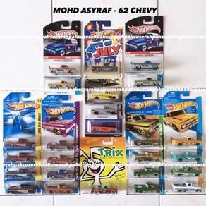 Hot wheels 62 chevy lot