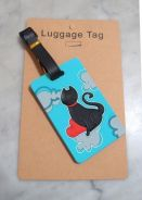 Cute Cat Luggage Tag (New)