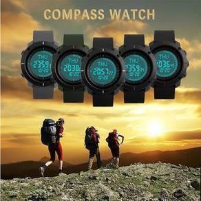 Jam tangan compass /kiblat skmei ori