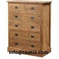 Teak wood chest of drawer at teakia
