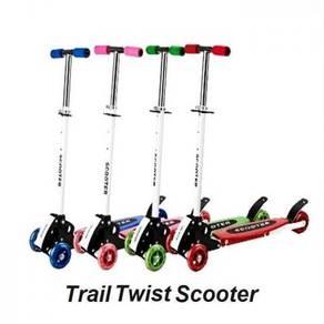 Trail Twist Kids Adjustable Foldable Bike Scooter